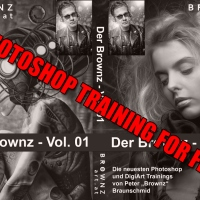 Komplettes GRATIS Photoshop Training von BrownzArt.com für ALLE.